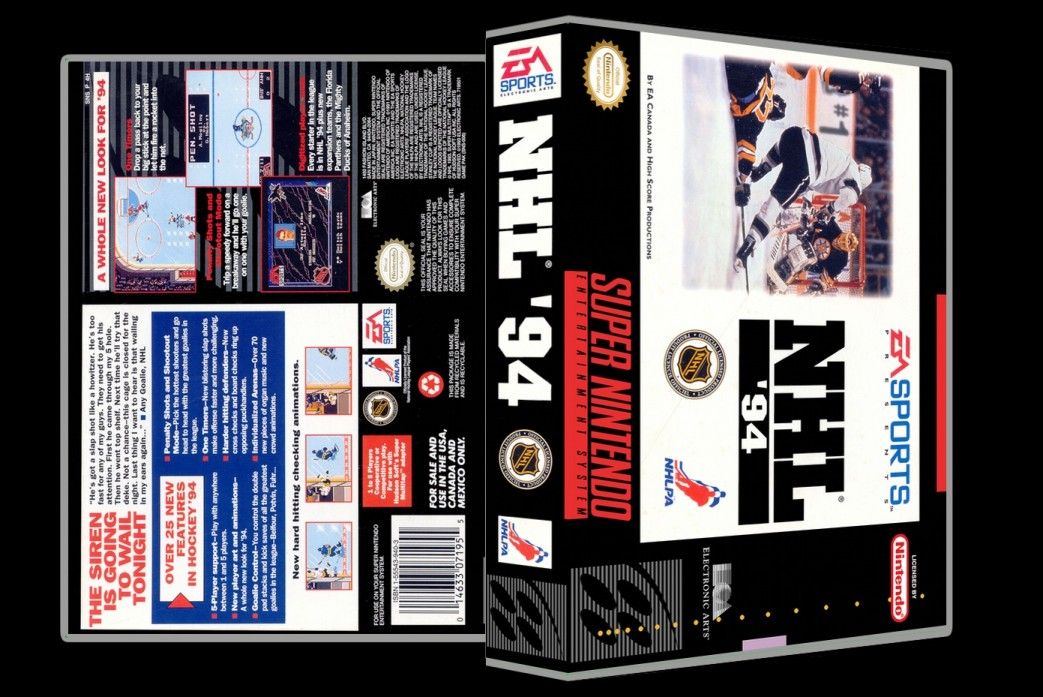 NHL 94 -  Game Case