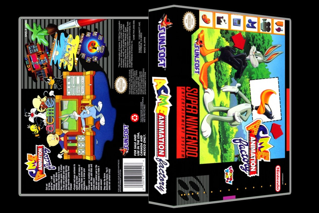 Acme Animation Factory -  Game Case