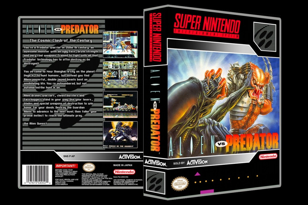 Aliens Vs Predator -  Game Case