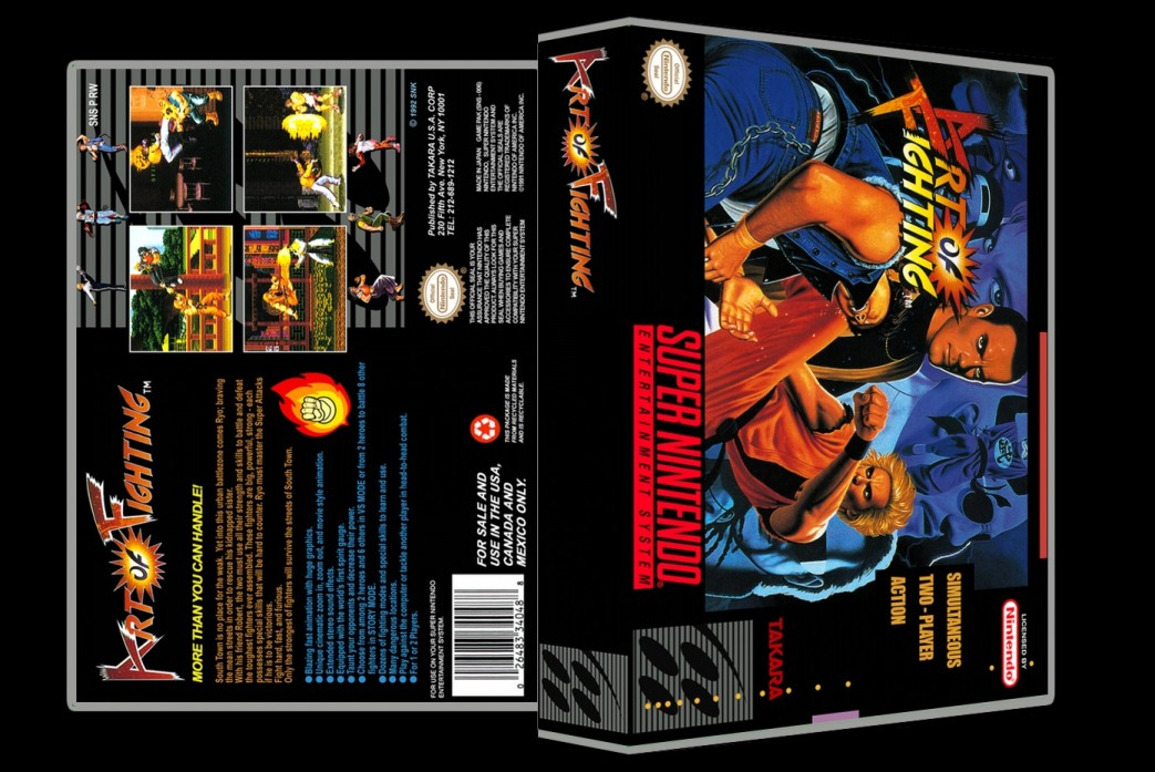 Art Of Fighting -  Game Case