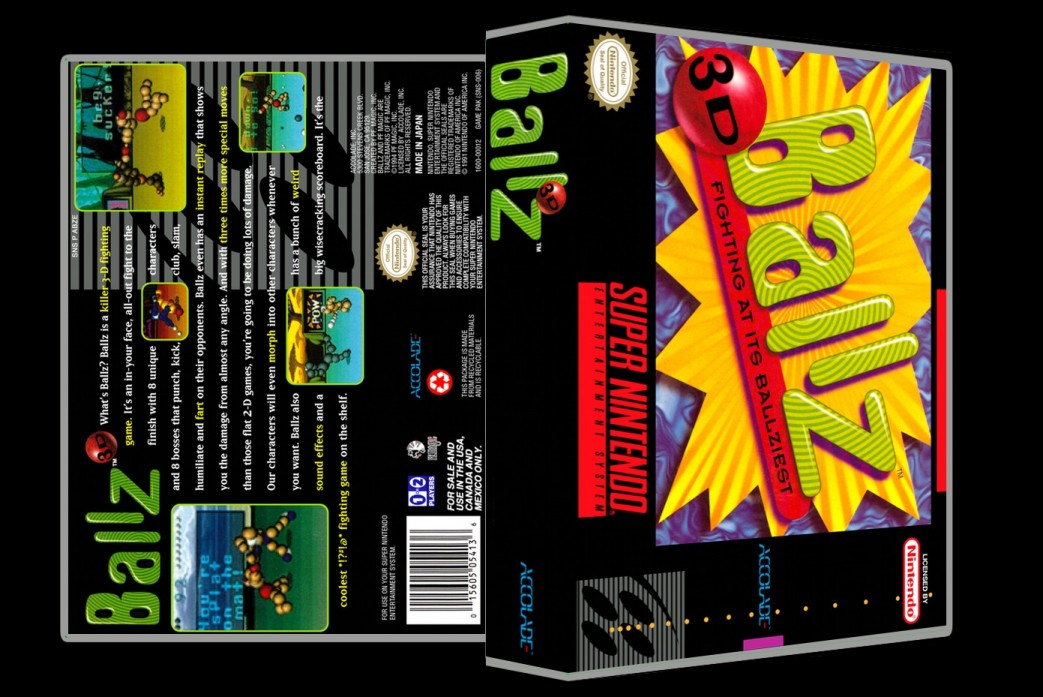 Ballz 3D -  Game Case