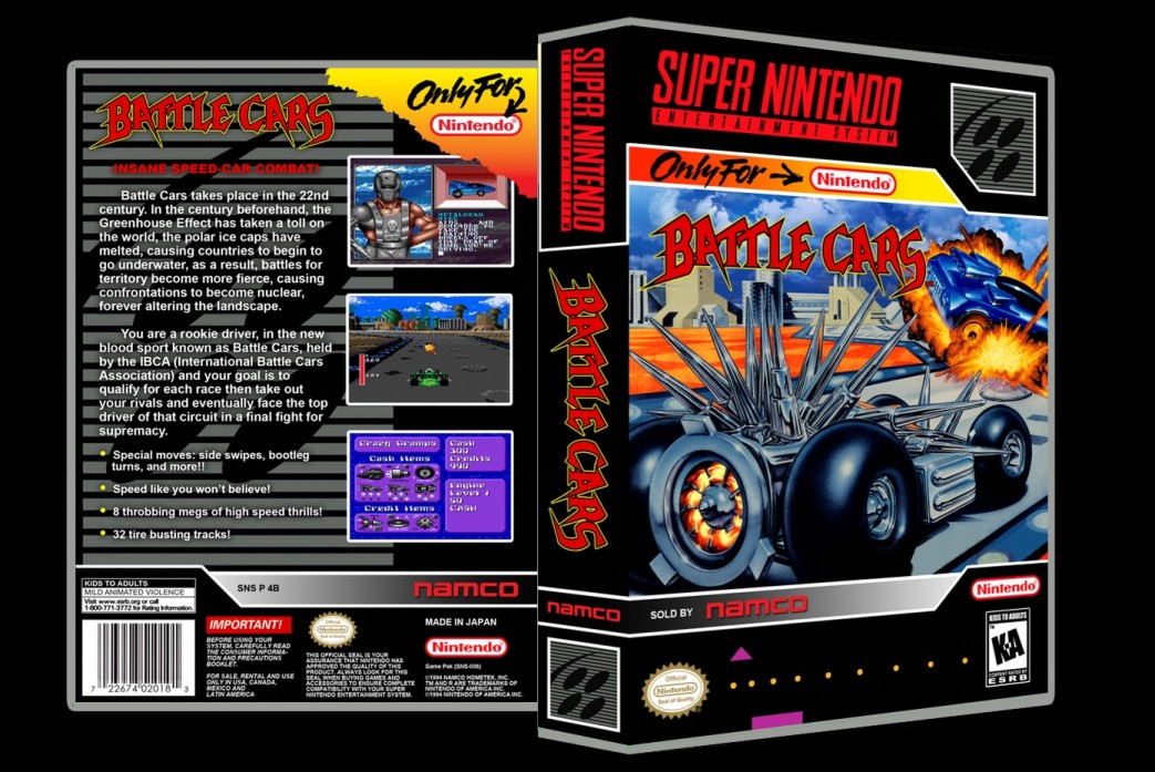 Battle Cars -  Game Case