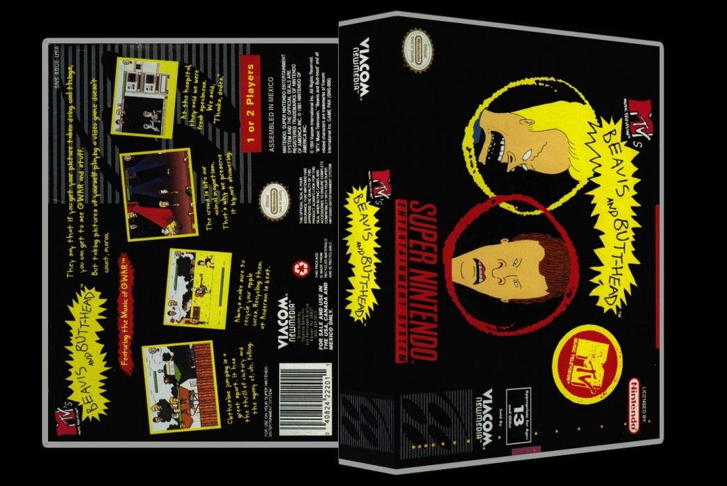 Beavis and Butthead -  Game Case