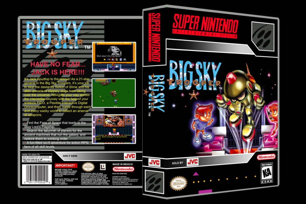 Big Sky Trooper -  Game Case