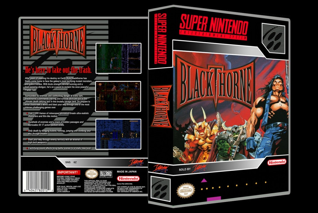 Blackthorne -  Game Case