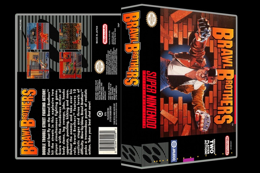 Brawl Brothers -  Game Case