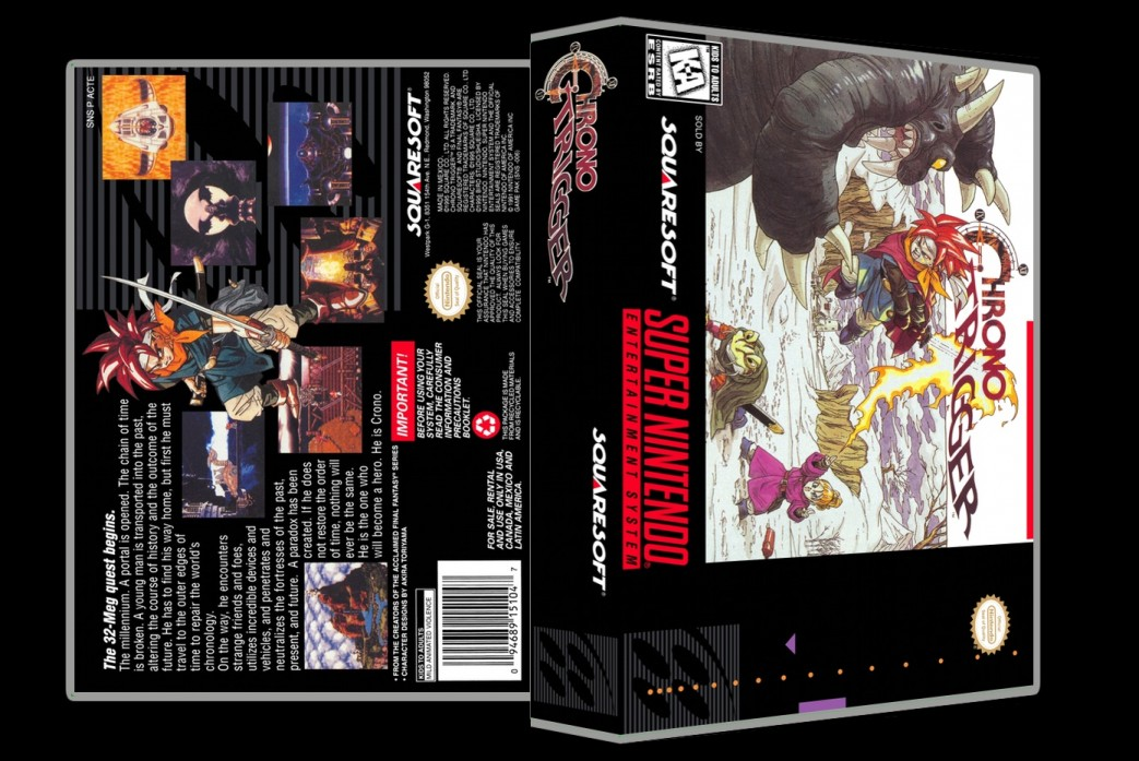 Chrono Trigger -  Game Case