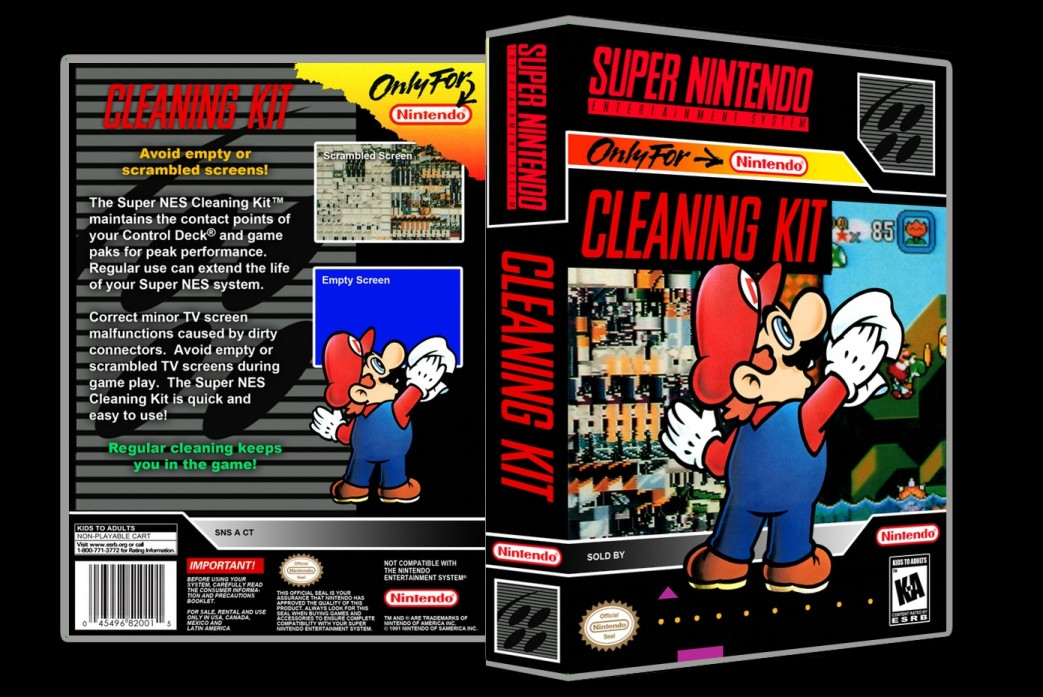 Cleaning Kit -  Game Case