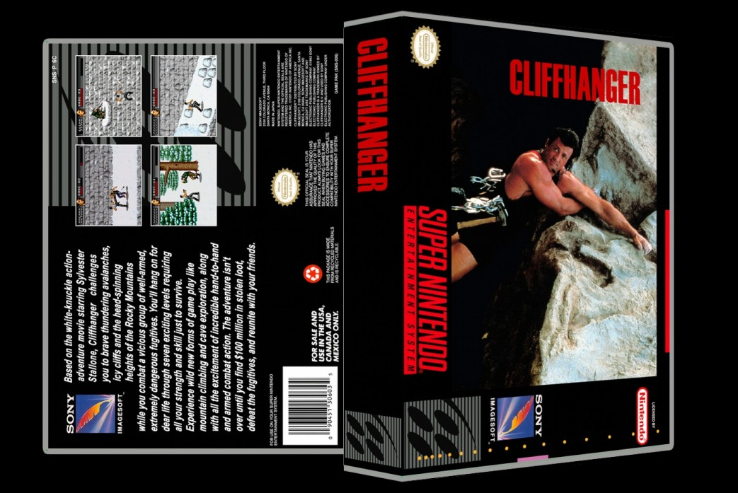 Cliffhanger -  Game Case