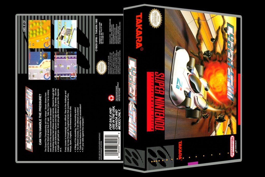 Cyberspin -  Game Case