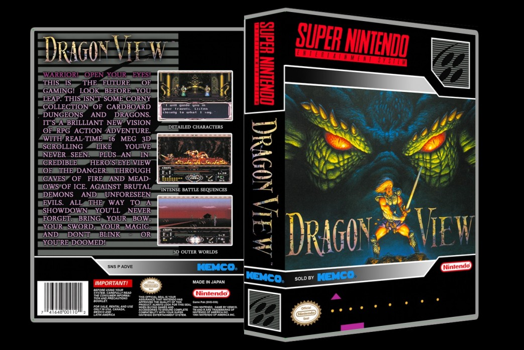 Dragon View -  Game Case