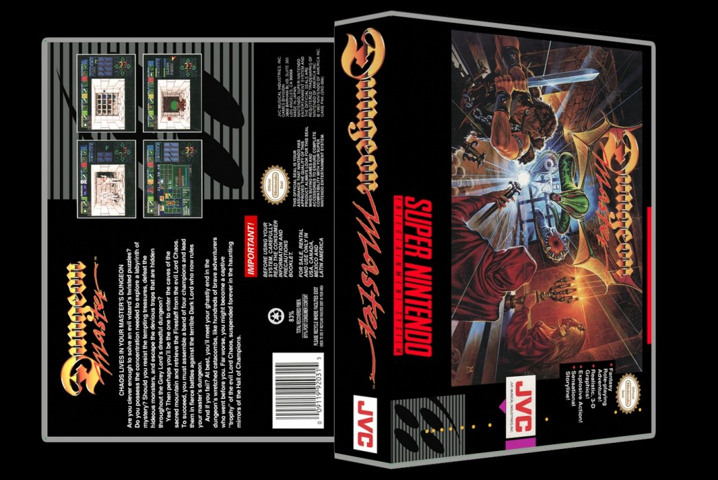 Dungeon Master -  Game Case