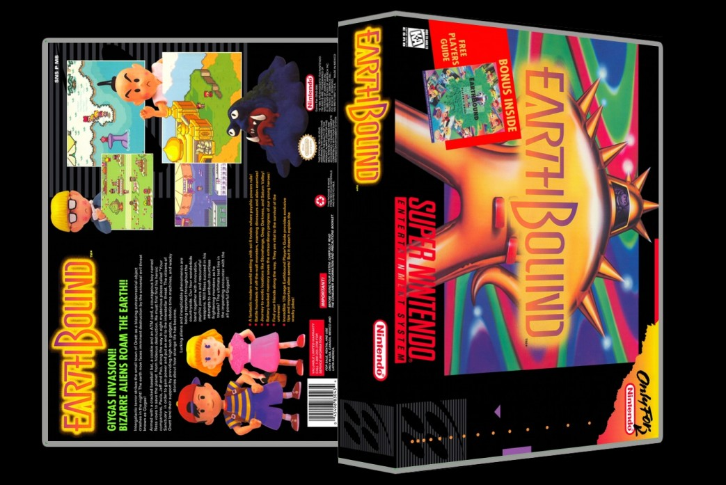 Earthbound -  Game Case