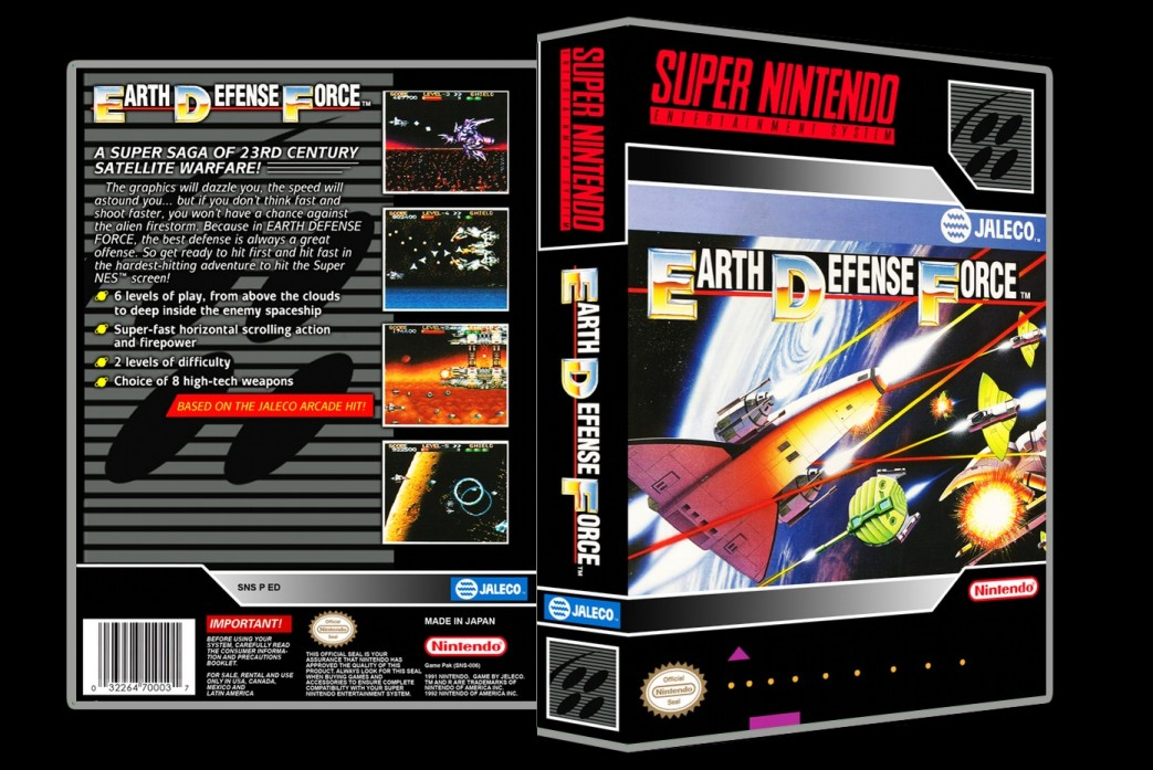 Earth Defense Force -  Game Case