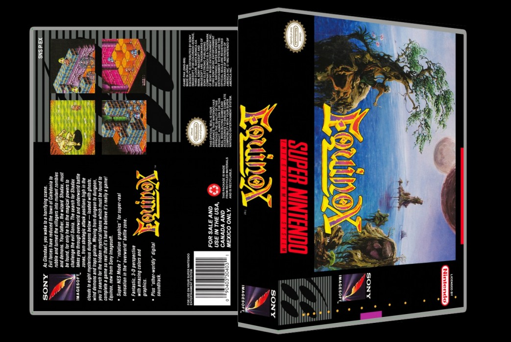 Equinox -  Game Case