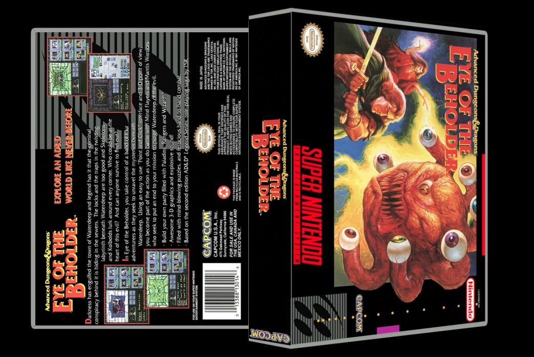 Eye Of The Beholder -  Game Case