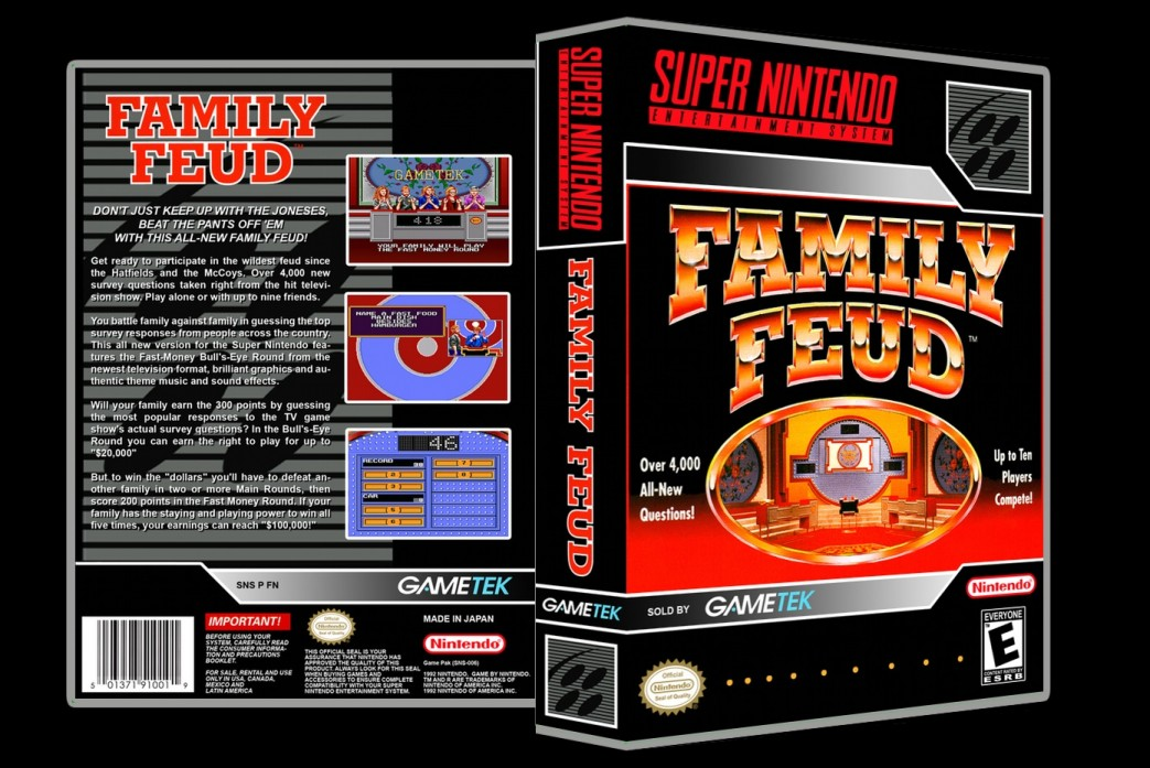 Family Feud -  Game Case