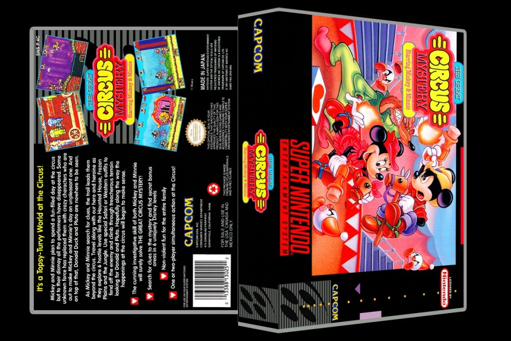 Great Circus Mystery -  Game Case