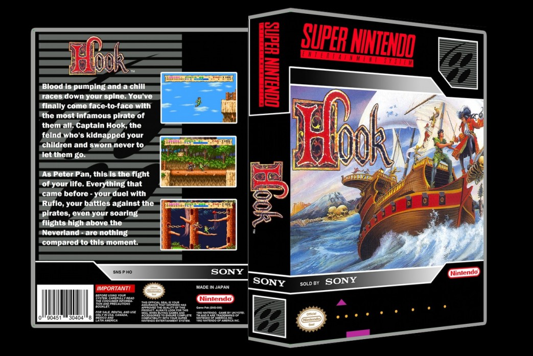 Hook -  Game Case