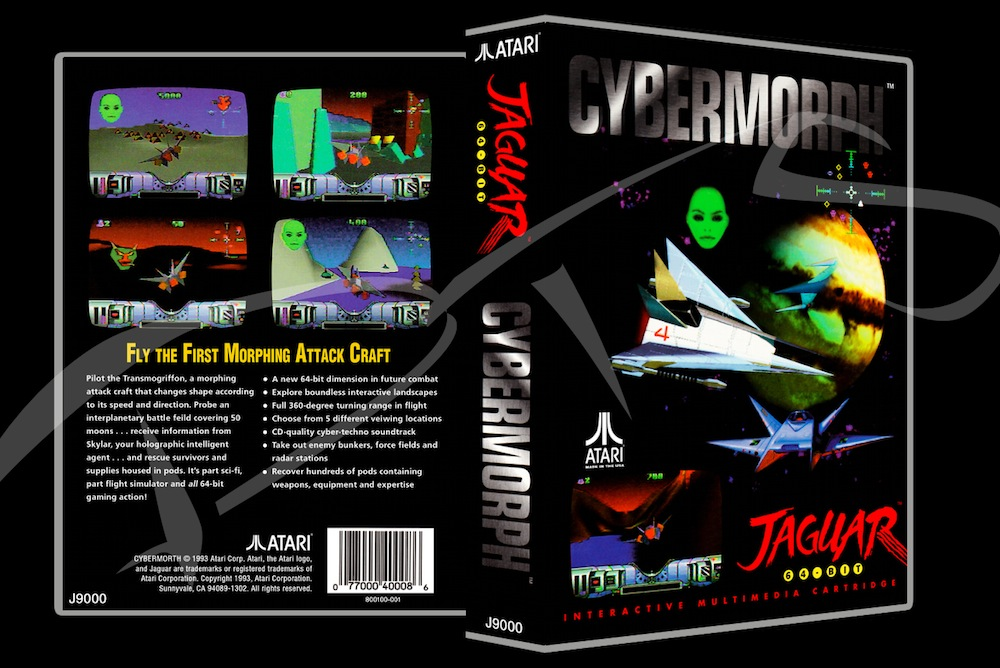 Cybermorph -  Game Case