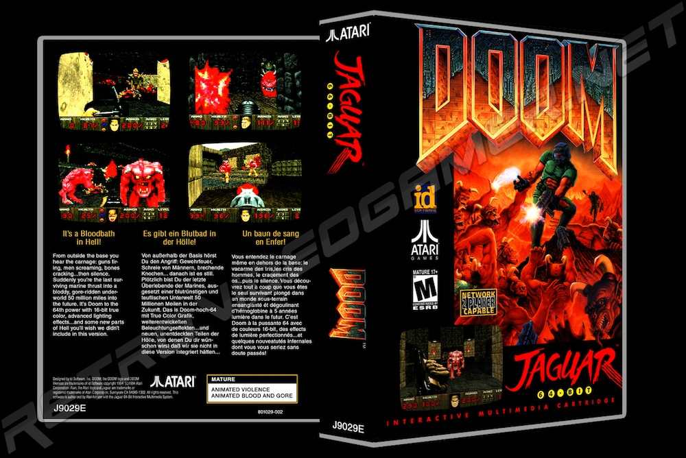 Doom -  Game Case