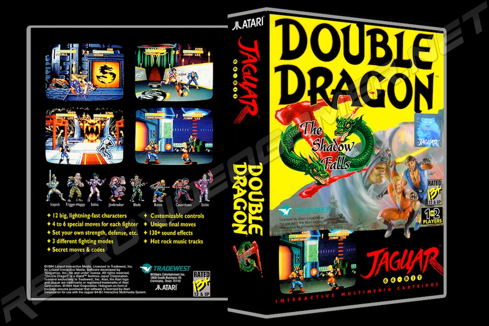 Double Dragon V -  Game Case