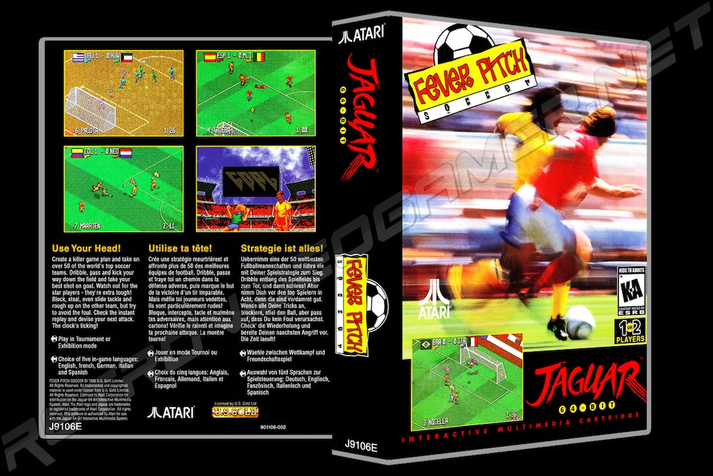 Fever Pitch Soccer -  Game Case