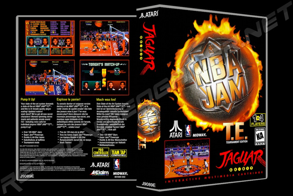 NBA Jam T.E. -  Game Case