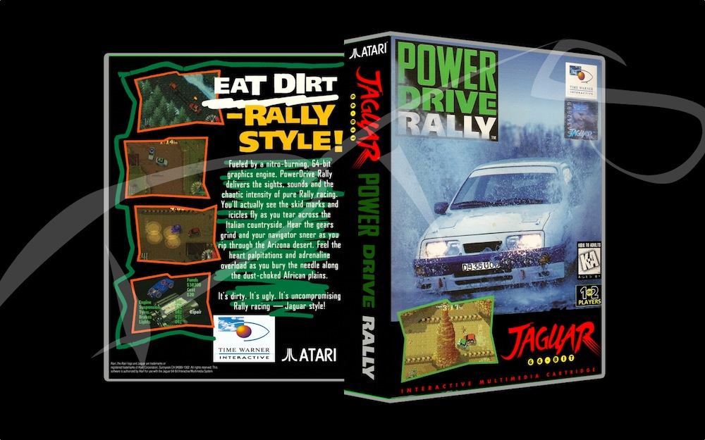 Power Drive Rally -  Game Case