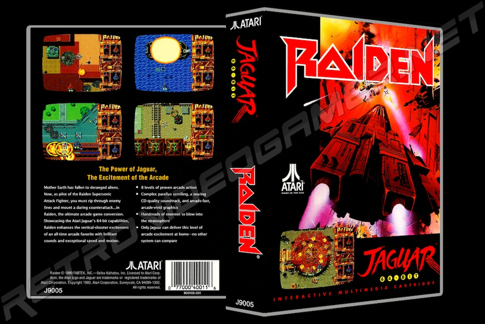 Raiden -  Game Case