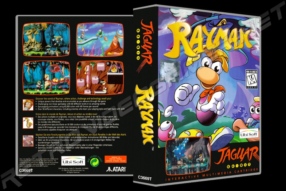 Rayman -  Game Case