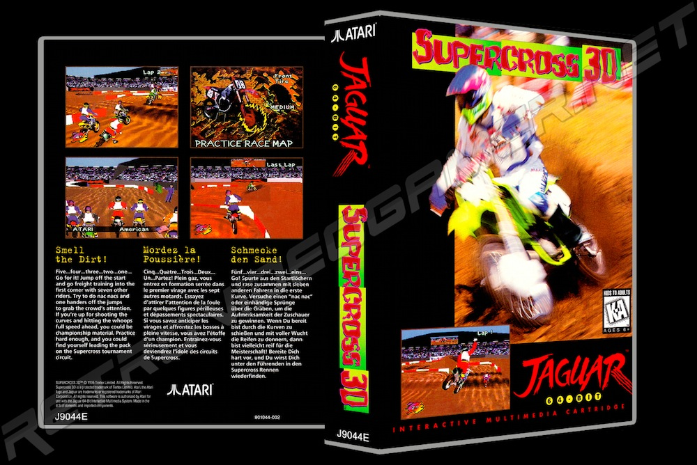 Supercross 3D -  Game Case