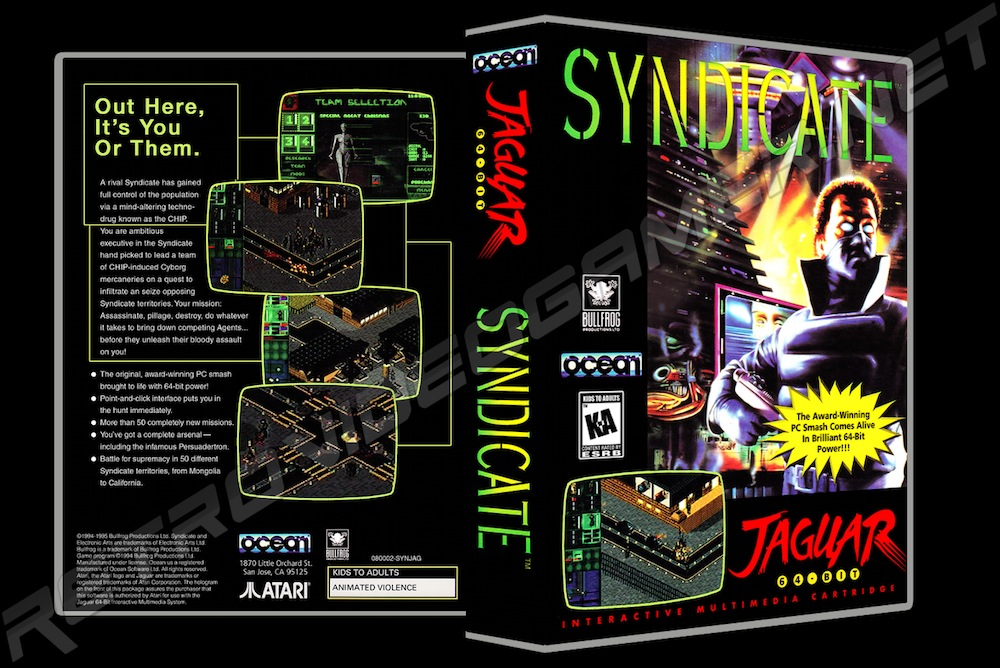 Syndicate -  Game Case