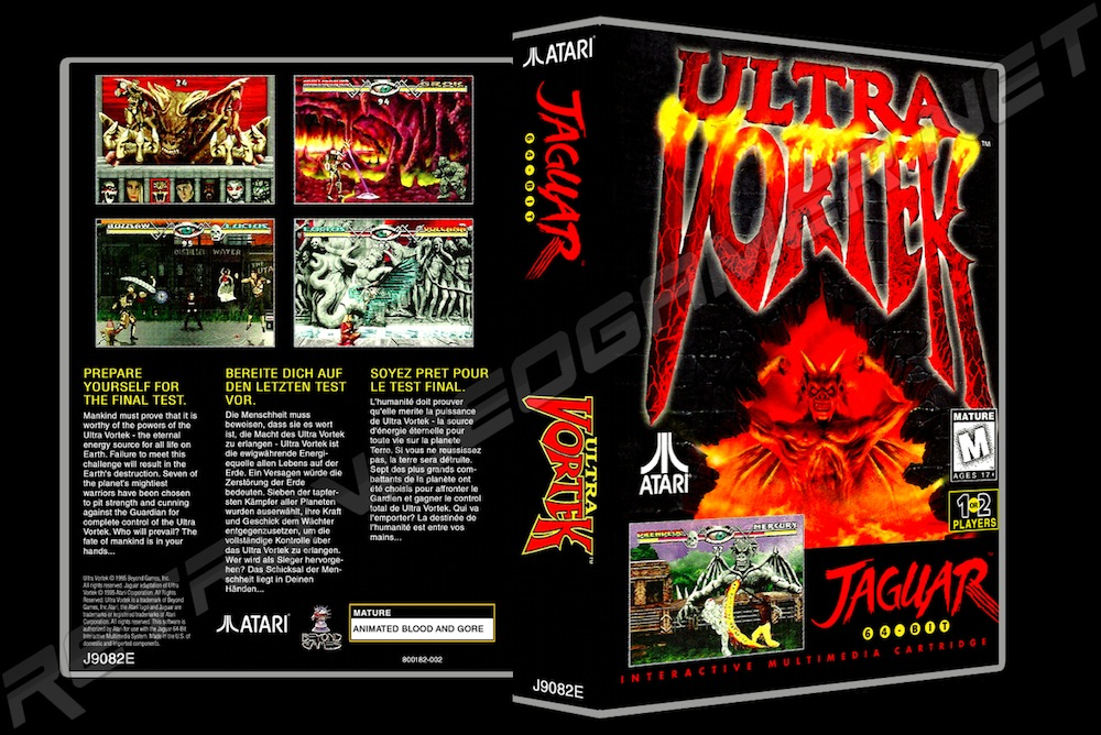 Ultra Vortek -  Game Case