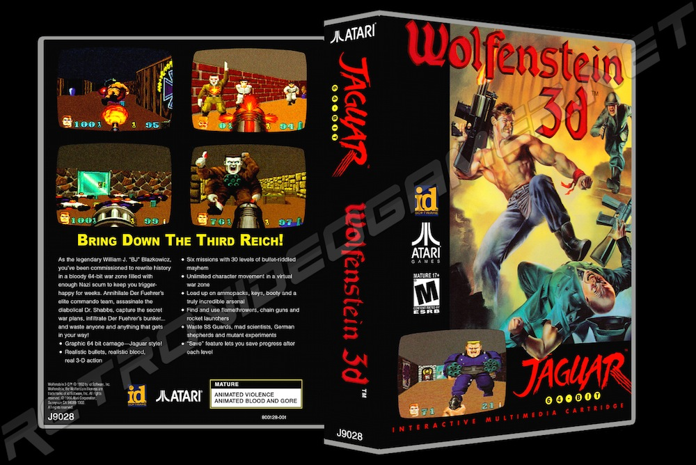 Wolfenstein 3D -  Game Case