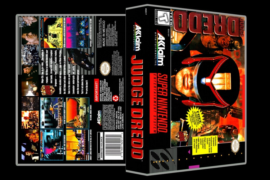 Judge Dredd -  Game Case
