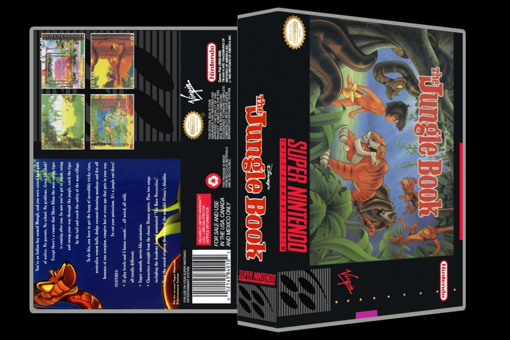 Jungle Book -  Game Case