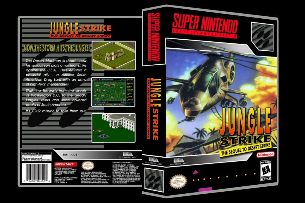 Jungle Strike -  Game Case