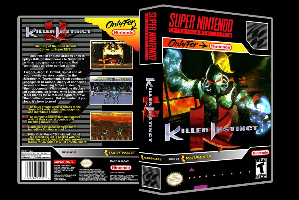 Killer Instinct -  Game Case
