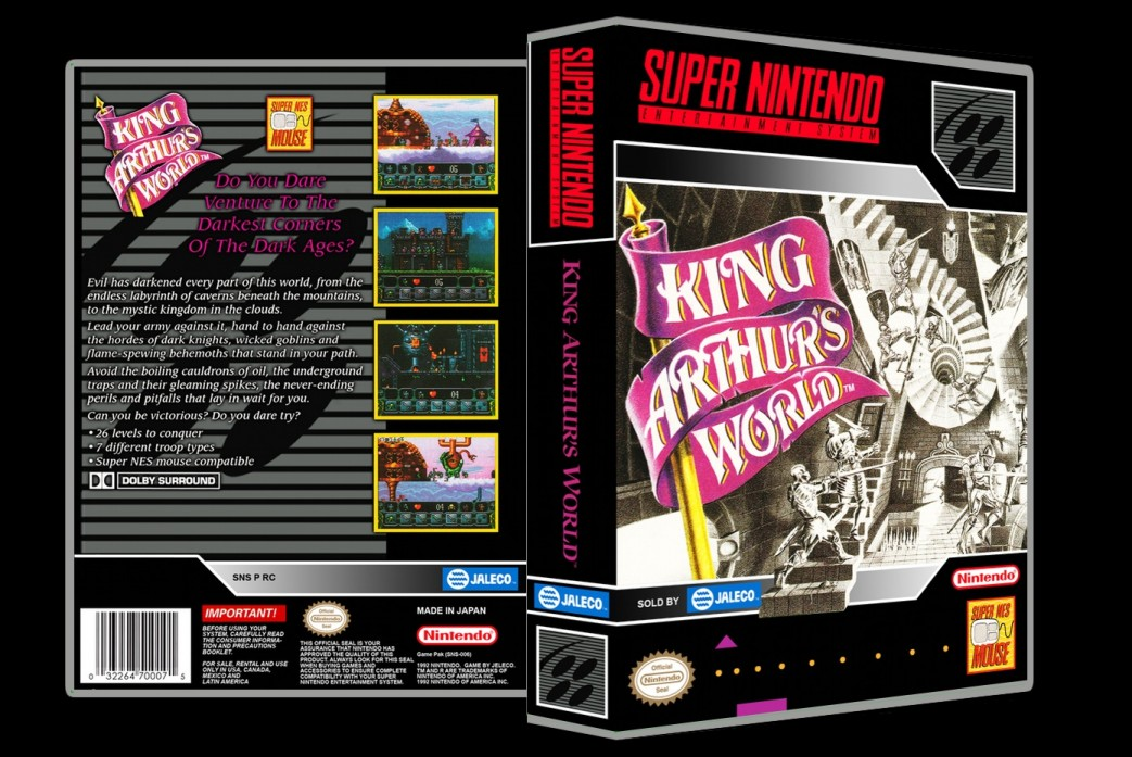 King Arthur's World -  Game Case