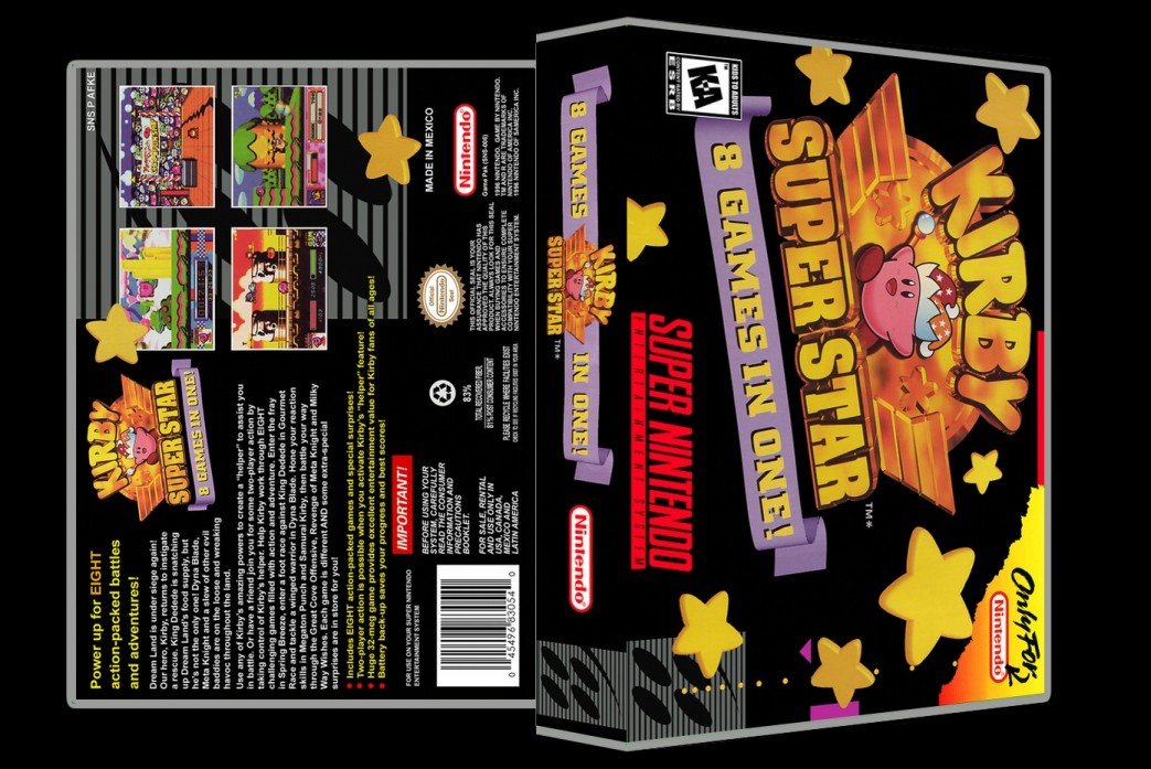 Kirby Super Star -  Game Case