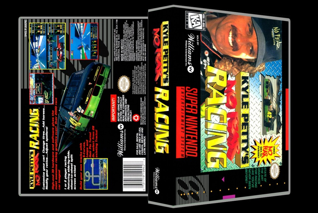 Kyle Petty's No Fear Racing -  Game Case
