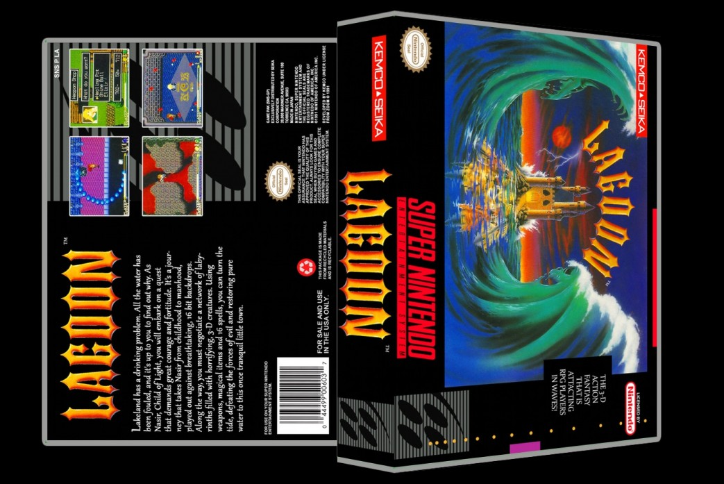 Lagoon -  Game Case