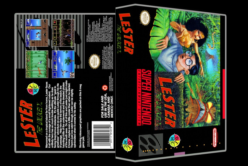 Lester the Unlikely -  Game Case