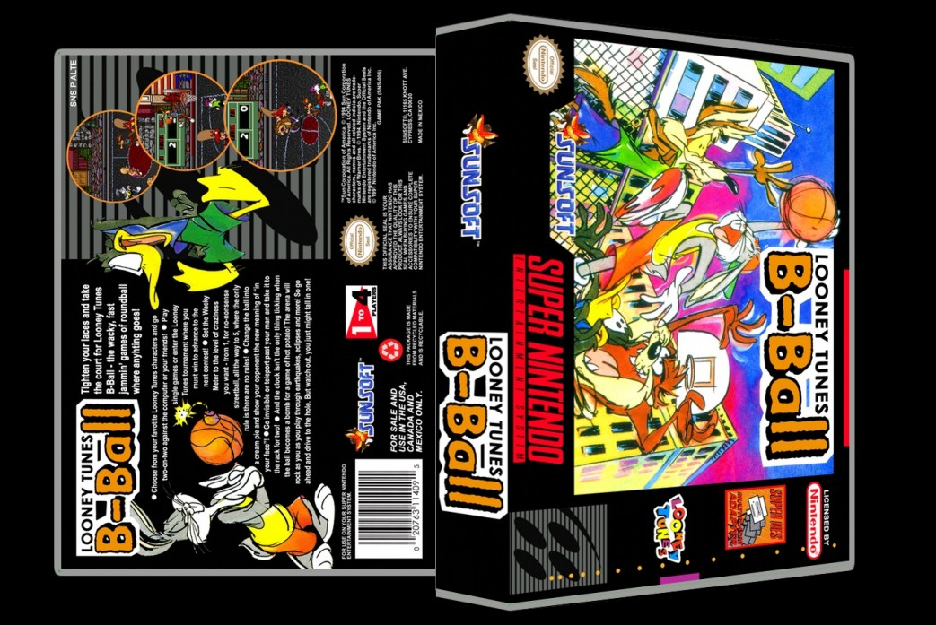 Looney Tunes B-Ball -  Game Case
