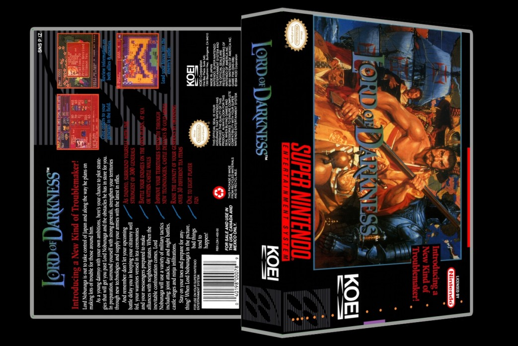 Lord of Darkness -  Game Case