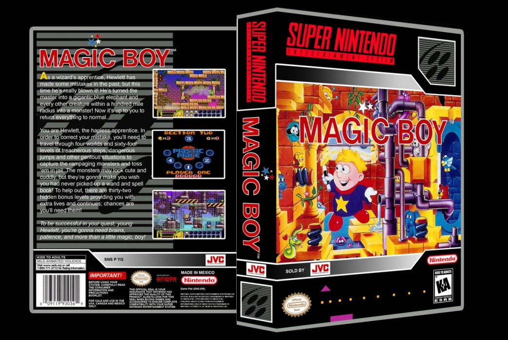 Magic Boy -  Game Case