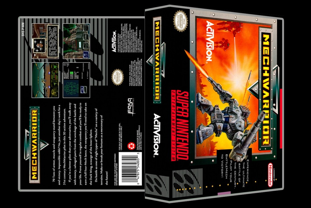 Mech Warrior -  Game Case