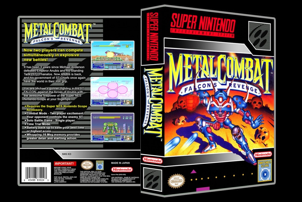 Metal Combat: Falcon's Revenge -  Game Case