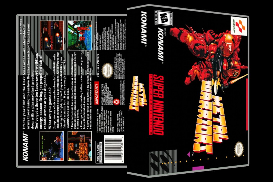 Metal Warriors -  Game Case